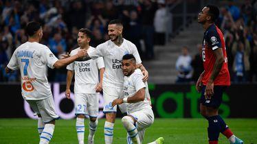 Igrači Marseillea slave gol