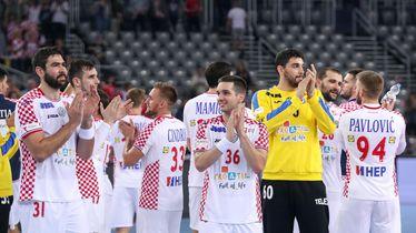 Hrvatski rukometaši (Foto: Luka Stanzl/PIXSELL)