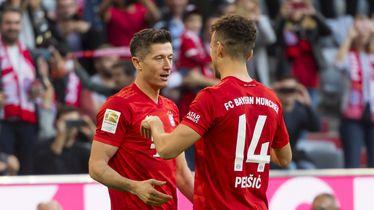 Robert Lewandowski i Ivan Perišić