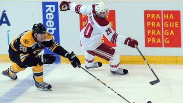 NHL u Pragu (Foto: AFP)