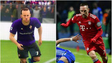 FIFA Ribery vs stvarni Ribery