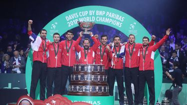 Hrvatska je 2018. osvojila Davis Cup