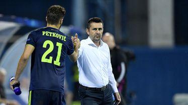 Bruno Petković i Nenad Bjelica