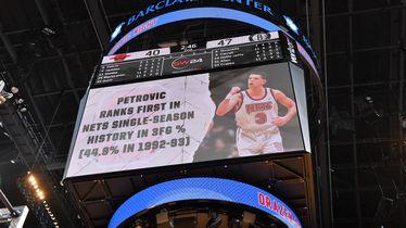 Dražen Petrović je legenda Netsa i NBA lige