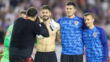 Bruno Petković, Dino Perić i Mislav Oršić