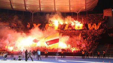 Navijači Dynamo Dresdena na gostovanju u Berlinu