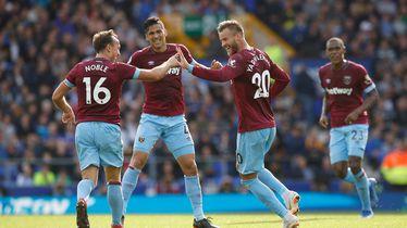 Slavlje igrača West Hama