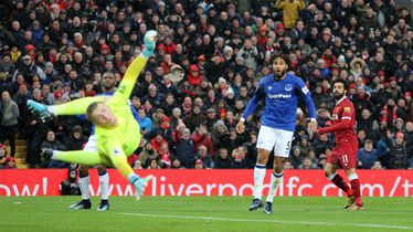 Salahov gol Evertonu