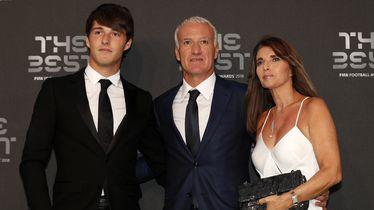 Didier Deschamps sa sinom i suprugom