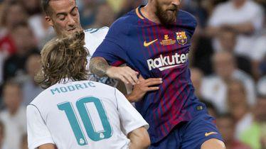 Luka Modrić i Lionel Messi