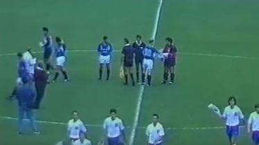 Detalj s utakmice Vrapče - Hajduk