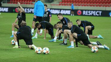 Trening hrvatske reprezenacije