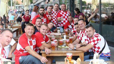 Hrvatski navijači u Trnavi