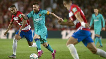 Messi u akciji protiv Granade