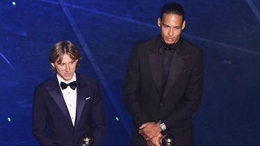 Luka Modrić i Virgil van Dijk (Foto: AFP)