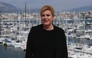 Kolinda Grabar-Kitarović (Foto: screenshot/Facebook)