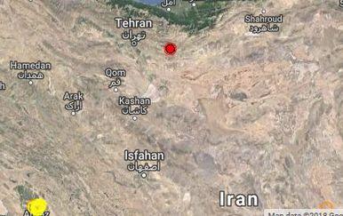 Potres u Iranu (Foto: emsc-csem.org)
