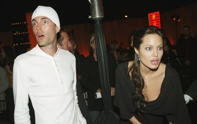 Angelina Jolie i James Haven (Foto: Getty)