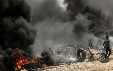 Prosvjedi u Gazi (Foto: AFP) - 1