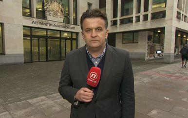 Andrija Jarak u Londonu (Foto: Dnevnik.hr)