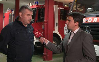 Željko Šoša, zadarski vatrogasni zapovjednik (Foto: Dnevnik.hr)