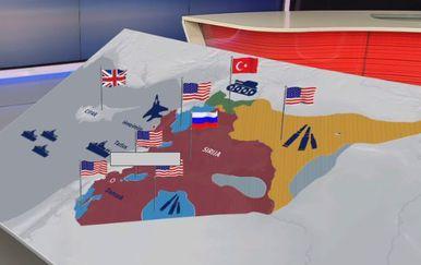 Kako je podijeljena Sirija? (Foto: Dnevnik.hr) - 2