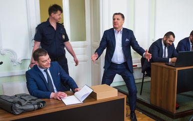 Suđenje Mamiću (Foto: Davor Javorovic/PIXSELL)