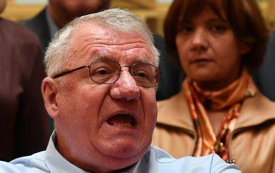 Vojislav Šešelj (Foto: Ivo Cagalj/PIXSELL)