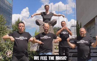 Iako je pet od sedam članova benda Dlan gluho, pred tim je glazbenicima prvi autorski album (Foto: Dnevnik.hr) - 2