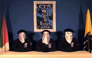 Baskijska organizacija ETA (Foto: AFP)