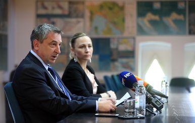 Konferencija za medije ministra Štromara (Foto: Slavko Midzor/PIXSELL)