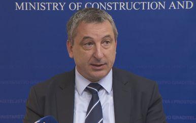 Predrag Štromar, ministar graditeljstva (Foto: Dnevnik.hr)