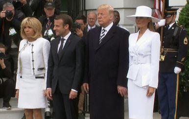 Donald i Melania Trump (Screenshot: Twitter)