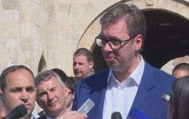 Aleksandar Vučić, predsjednik Srbije (Foto: Dnevnik.hr)