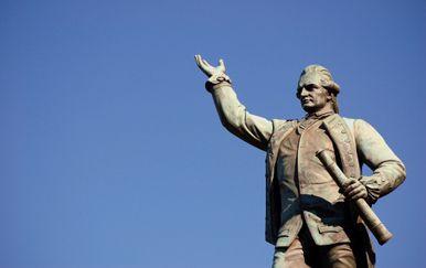 Spomenik kapetanu Cooki (Foto: Guliver/Thinkstock)