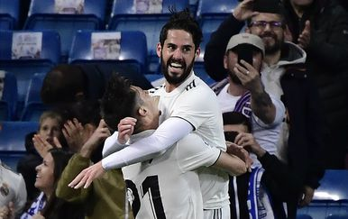 Isco i Brahim Diaz slave gol (Foto: AFP)