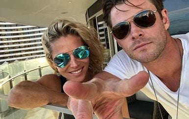 Chris Hemsworth i Elsa Pataky (Foto: Instagram)