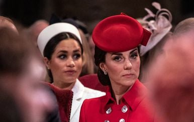 Kate Middleton i Meghan Markle (Foto: AFP)