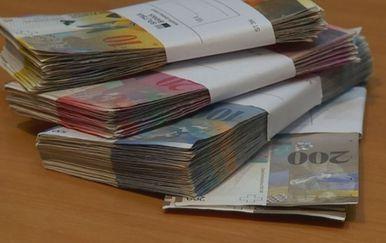 Švicarski franak/Ilustracija (Foto: Dnevnik.hr)