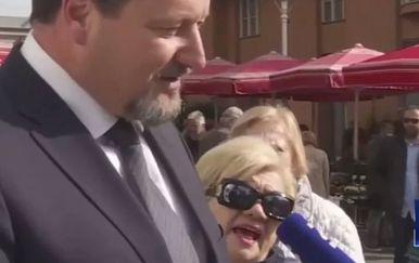 Izvrijeđala ministra Kuščevića (Screenshot: N1 televizija)
