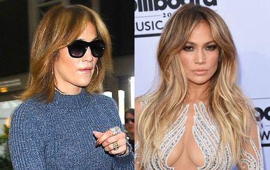 Slavne žene s ekstenzijama za kosu i bez njih - 4
