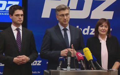 Andrej Plenković i Karlo Ressler (Foto: Dnevnik.hr)