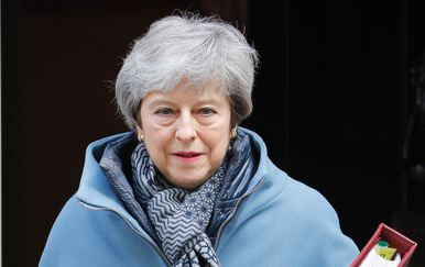 Britanska premijerka Theresa May (Foto: AFP)