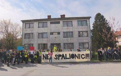 Prosvjed u Konjščini protiv toplane (Foto: Dnevnik.hr) - 1
