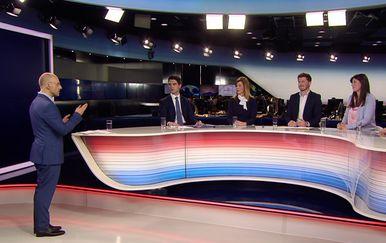 Sučeljavanje kandidata za izbore za Europski parlament (Foto: Dnevnik.hr)