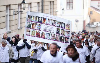 Prosvjed Spinraza za sve (Foto: Igor Soban/PIXSELL)