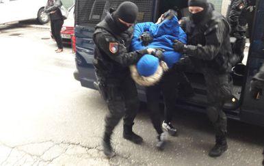 Uhićenja u Sarajevu (Foto: Avaz.ba/J.A.)