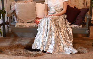 H&M suknja koja je moćna i ženstvena