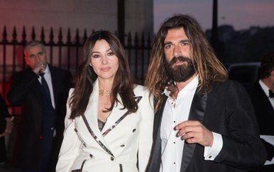 Monica Belluci i Nicolas Lefebvre (Foto: Profimedia)