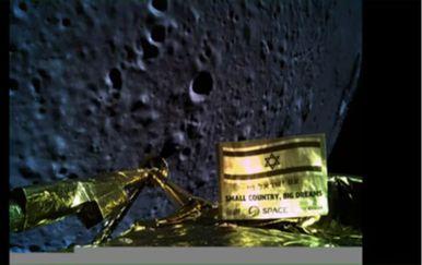 Prva i posljednja fotografija Beresheeta s Mjesecom